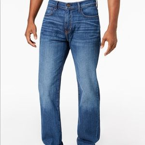 Tommy Hilfiger Men's Relaxed Fit Stretch Jeans
